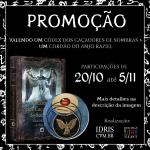 Promoção Pendente Raziel + Exemplar Códex dos Caçadores de Sombras