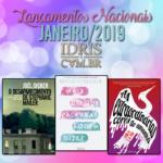 Lançamentos literários brasileiros: Janeiro/2019
